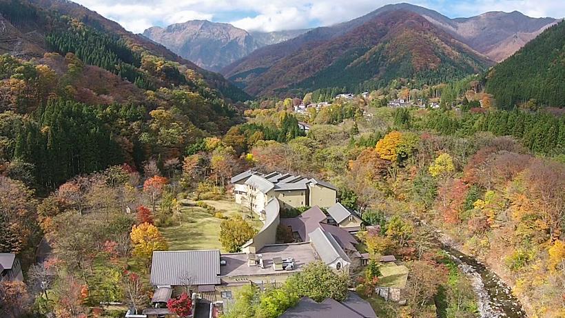 """Bettei Senjuan"" Tanigawa Onsen, Gunma pref. JAPAN"